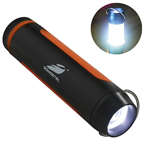 Foldable Design Cob Led Outdoor Camping Flashlight 5 Modes Rechargeable Torch Tu Sport Laternen