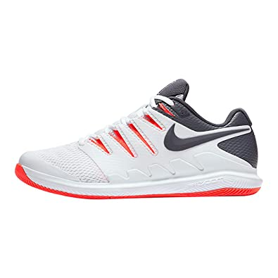 online store 38982 a7284 Nike Air Zoom Vapor X HC Chaussures de Fitness Homme, Multicolore  (White Thunder