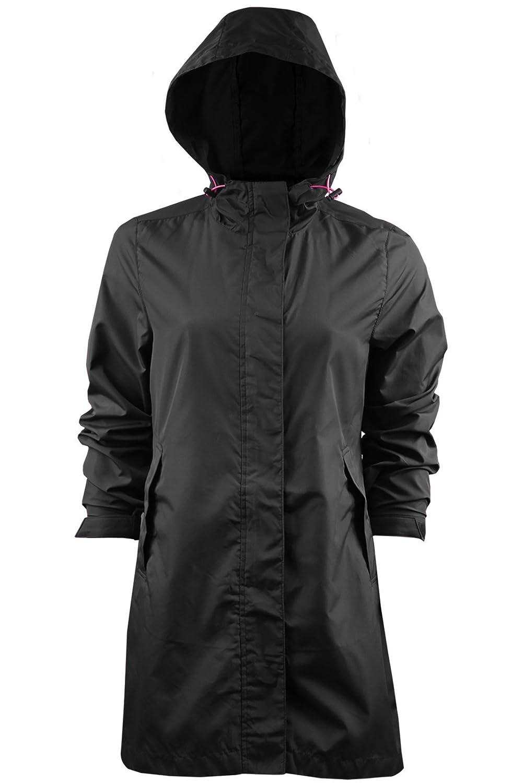 2bb649841 Ladies Brave Soul Raver Lightweight Raincoat Hooded Foldaway Mac In A Bag