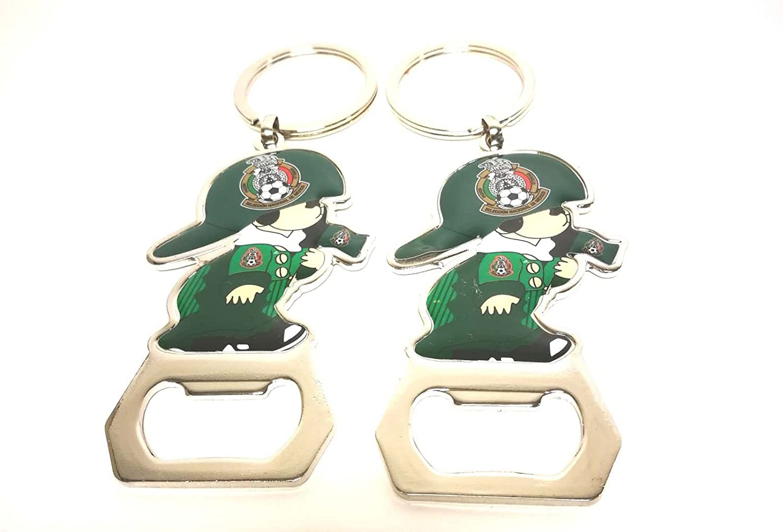 Amazon.com: SoNice Gift Mexico Soccer Team Keychain Key ...