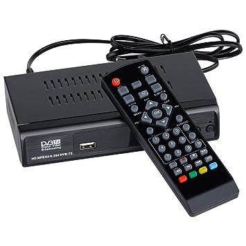 RETYLY Receptor TV 1080P Dvb-T2 Digital Terrestre Broadcasting ...
