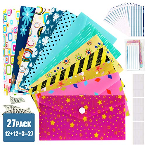 Cash Envelopes Plastic For