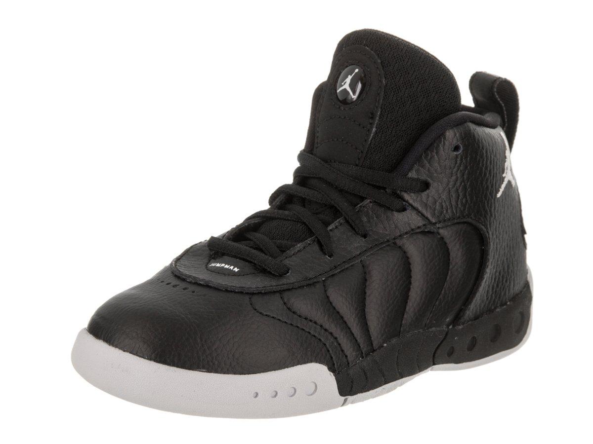 fe39f8ba Jordan Boy's Jumpman Pro Basketball Shoes B076DYVZRZ 6 M US  Toddler|Black/White/