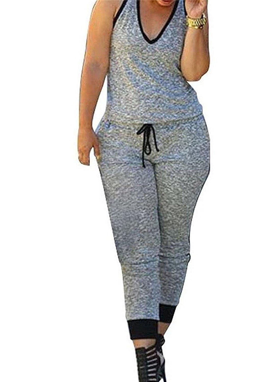 ABASSKY Women Summer Casual Elegant Printing Long Sleeve Mini Rompers Jumpsuit Playsuit