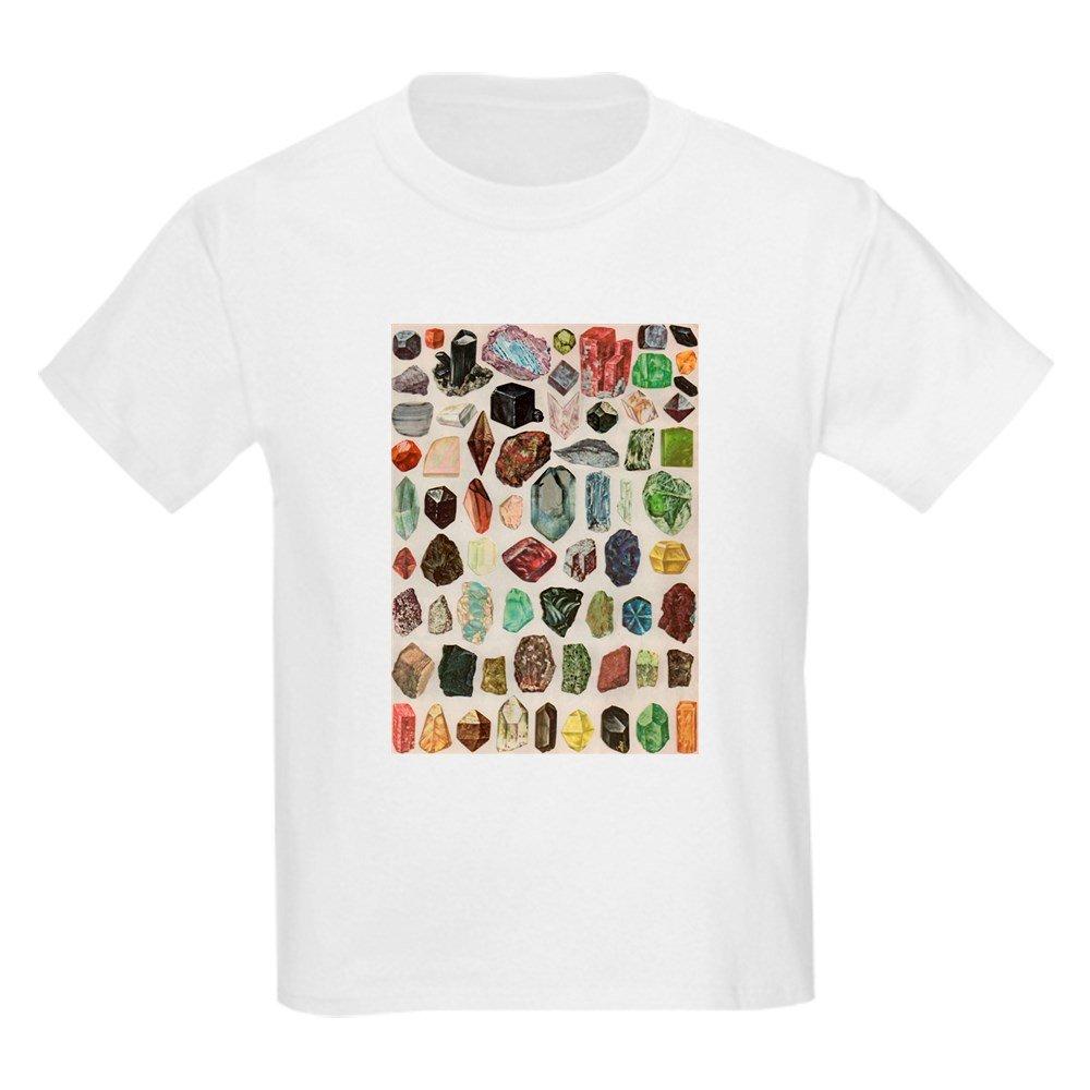 d37a3b6ff CafePress - Vintage Geology Rocks Gemstones T-Shirt - Youth Kids Cotton T- shirt: Amazon.ca: Clothing & Accessories