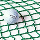 Replacement 10ft x 10ft Golf Impact Panel (Green) (1.8mm Knotless Twine) - Super Strong Net Panels Reduce The Wear & Tear On Your Golf Practice Cage [Net World Sports]