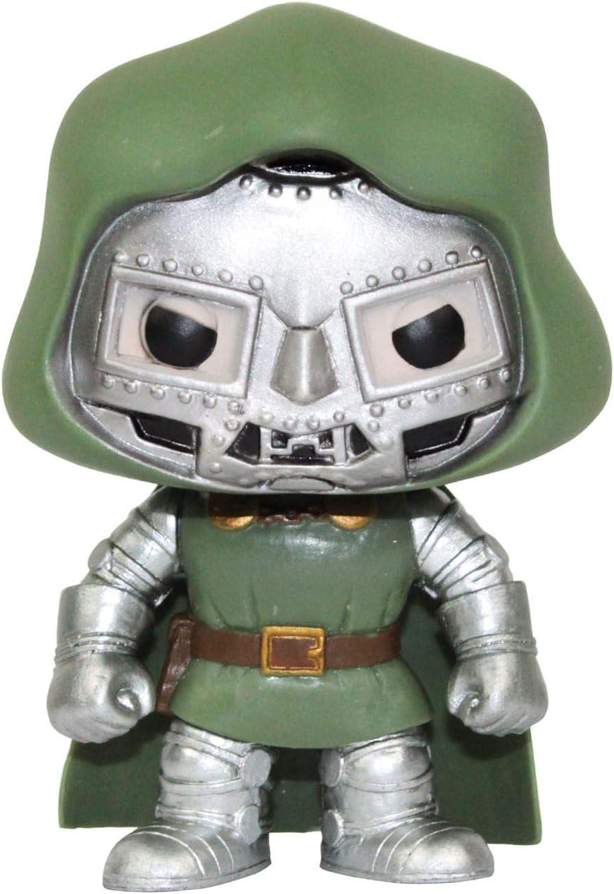 Funko Pop! Fantastic Four Dr Doom Vinyl Bobble Head Figure: Amazon ...