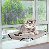 Homdox Cat Window Perch Cozy Kitty Window Bed Stable Kitty Cot Sunny Seat Bed