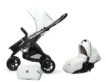 Casualplay Match 2 Kudu 3 - Silla + bolso + Sono, color blanco: Amazon.es: Bebé