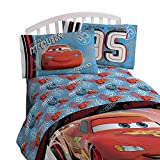 Cars Red & Blue Bedding Set (Toddler) 4pc