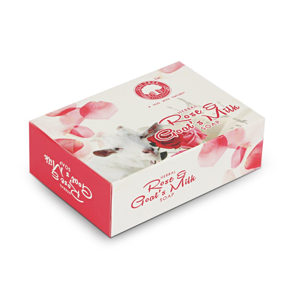 Buy Old Tree Herbal Soap Rose And Goat Milk Pack Of 4 120 Grams Each Sabun Online At Low Prices In India