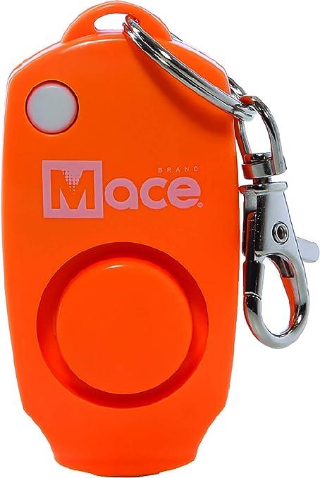 Amazon Com Mace Brand 130db Personal Alarm Key Chain With Bag