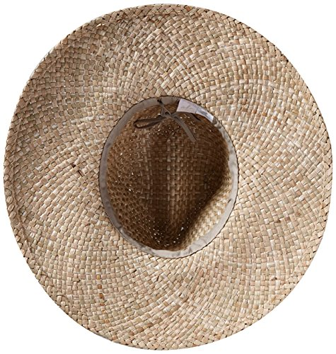 Ale by Alessandra Margarita Raffia Sunhat Packable, Adjustable and UPF Rated