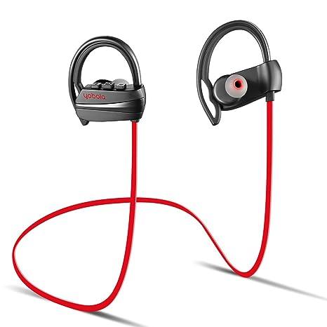 9c61e1969bd yobola Best Long Standby Wireless In Ear Sports Bluetooth Headphones  Sweatproof Earphones for Running Noise Cancelling