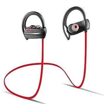 yobola True Auriculares Bluetooth Inalámbrico, Bluetooth 5.0 Auriculares 24H Reproducción 3D Stereo HD Cascos Inalámbricos