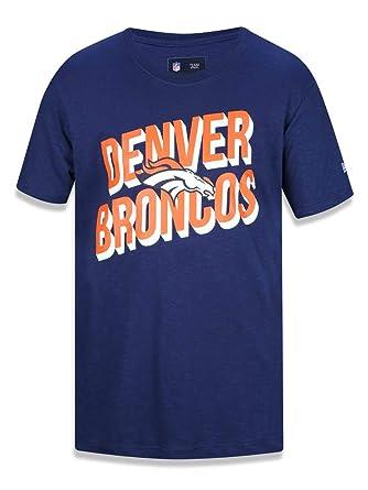 14b9e6f38 CAMISETA DENVER BRONCOS NFL NEW ERA  Amazon.com.br  Esportes e Aventura