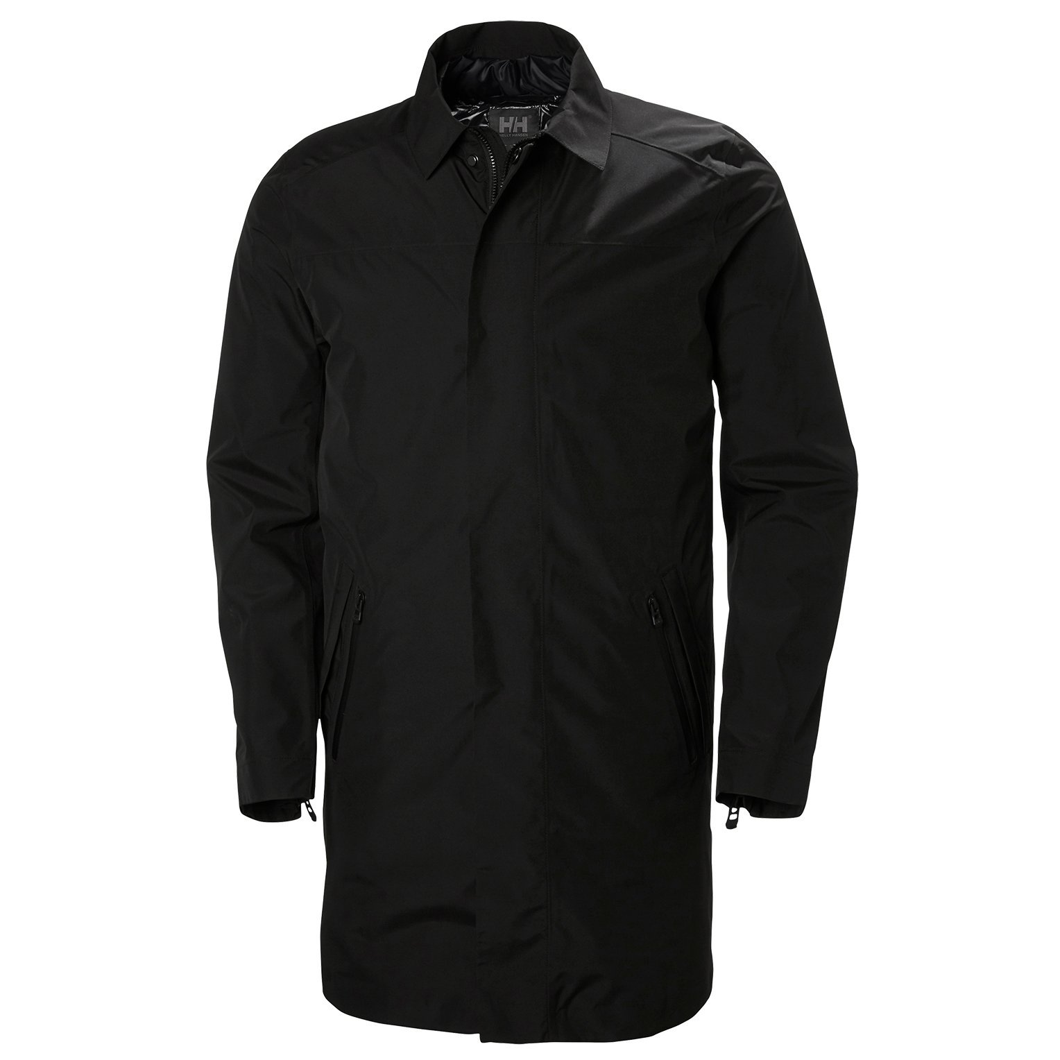 Helly Hansen 65131 Men's Ask Business Coat, Black - L