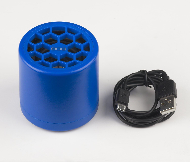 Blue 808 Thump Bluetooth Wireless Speaker