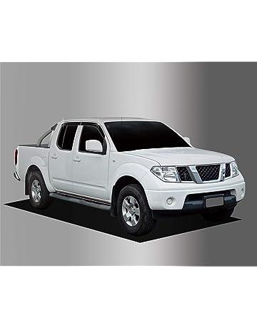 Autoclover Nissan Navara D40 2005 – 2015 Set de deflectores de Viento – Doble Cabina (