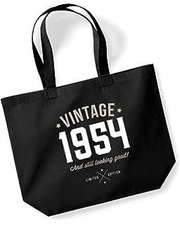 65th Birthday 1954 Keepsake Gift Looking Good Ladies Shopping Bag