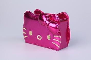 Hello Kitty & Funky Divas Moño Pitillera de Madera Bolsa Magenta Rosa