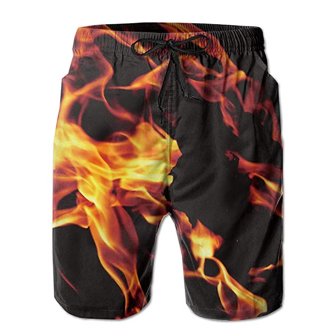 Amazon.com: Bañador para hombre, con llama, pantalones ...