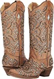 Corral Boots Women's A3352 Brown 9.5 B US