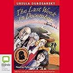 The Last Week in December   Ursula Dubosarsky