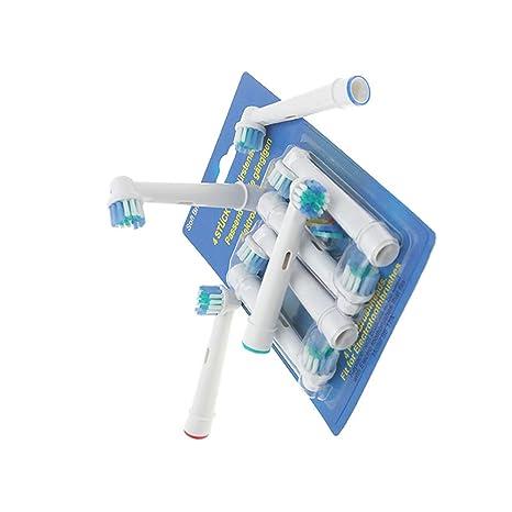 4 cabezales de repuesto para cepillo de dientes eléctrico Oral B Hygiene Care Clean