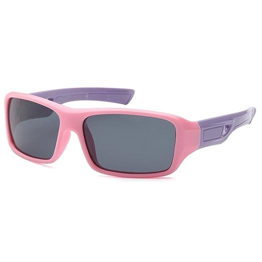 62447fd56ba3 TRUST OPTICS Kids Age 3-10 Soft Flexible Polarized Sporty Sunglasses - Pink  Sports Style