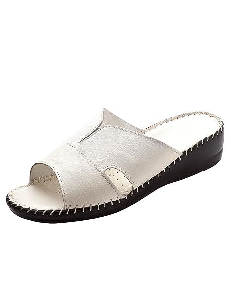 ee7d00d5 Pediconfort Mules Extra-larges Piel: Amazon.es: Zapatos y complementos