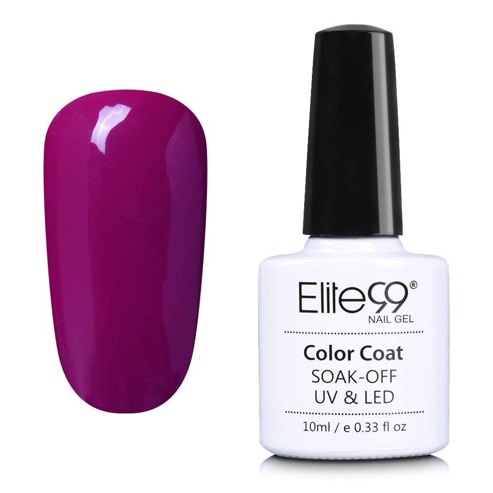 Elite99 Esmalte de Uñas de Gel UV LED Un-Paso Color Semipermanente ...