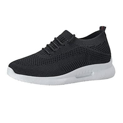 9f263877662a9 Womens Trainers Lightweight Walking Running Shoes Fashion Students Mesh  Sneakers Casual Comfortable Breathable Sneaker Air Athletic