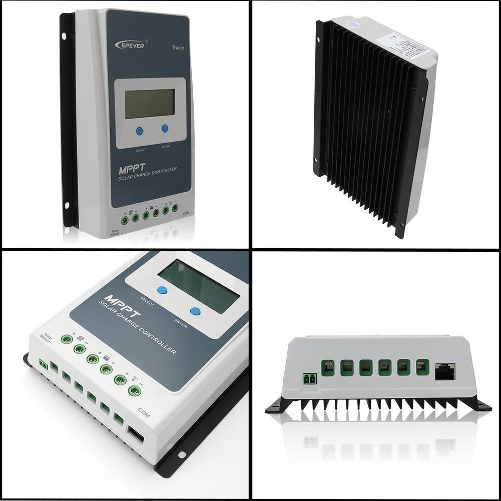 Sun YOBA Solar Charge Controller MPPT Solar Controller Tracer1210A 12V 24V