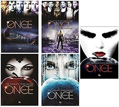 Once Upon A Time : Complete Collection, DVD (Series Seasons 1-5, 1,2,3,4,5 Bundle) USA Format Region 1