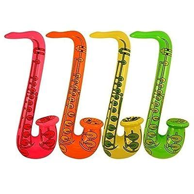 12 Gonflables Saxophones