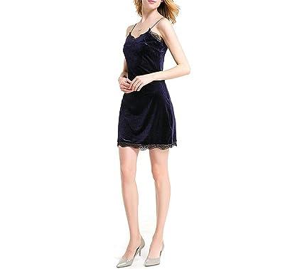 Kaured Elegant Women Dress Wine Red Clubwear Miniwith Lace Sphagetti