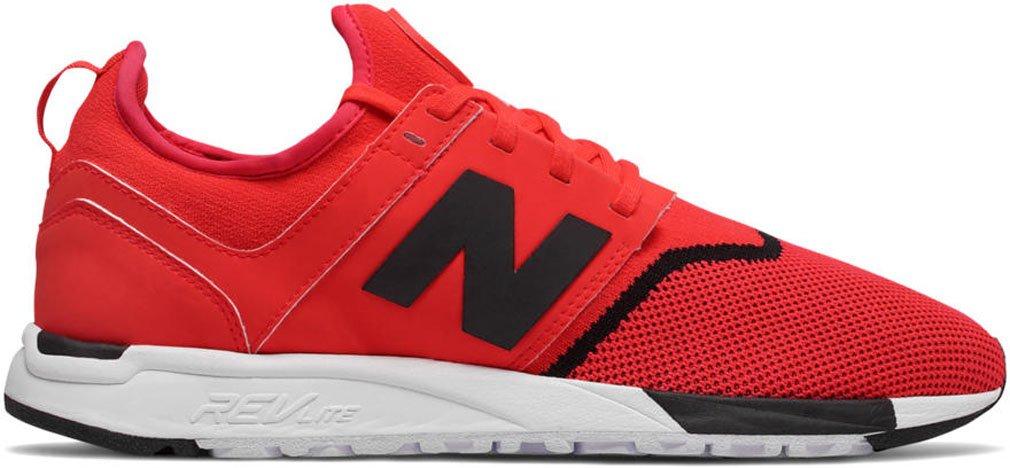 New Balance Herren 247 Classic Mesh Sneaker  39.5 D EU|Red/Black
