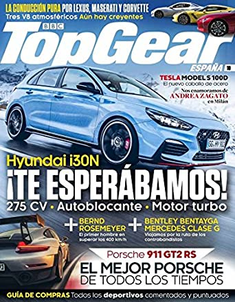Top Gear España November 1, 2017 issue