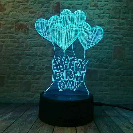 wangZJ 3d Night Lights For Children Kids Night Lamp/toys For ...