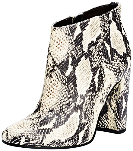 Sam Edelman Cambell, Stivaletti Donna Beige (Modern Ivory Rock Snake Print Leather)