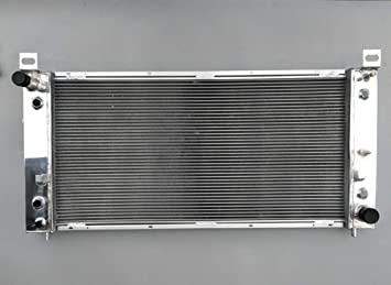 Aluminum radiator for Chevrolet Silverado 1500 2500 3500 4.8L 5.3L 6.0L V8