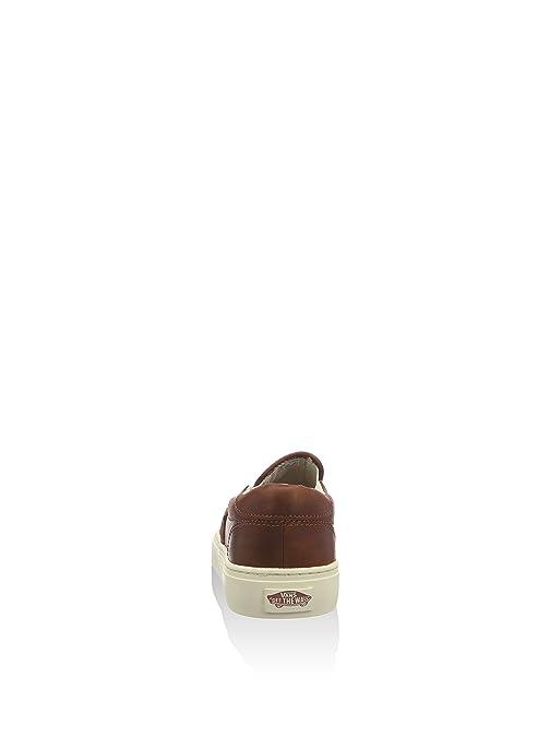 0131f806c880 Vans LEATHER SLIP-ON CUP CA (HENNA TURTLEDOVE) Men s Shoes VN000317HUN (7)   Amazon.ca  Shoes   Handbags
