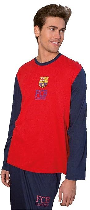 Barcelona FC Pijama oficial Hombre + REGALO Bolígrafo Barça (S)  Amazon.es   Deportes y aire libre d58ac07ce7e