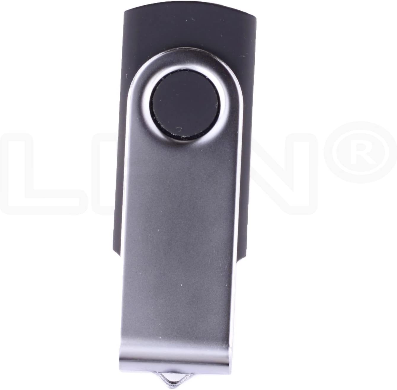 Bulk 5 Pack LHN 1GB Swivel USB Flash Drive USB 2.0 Memory Stick Black