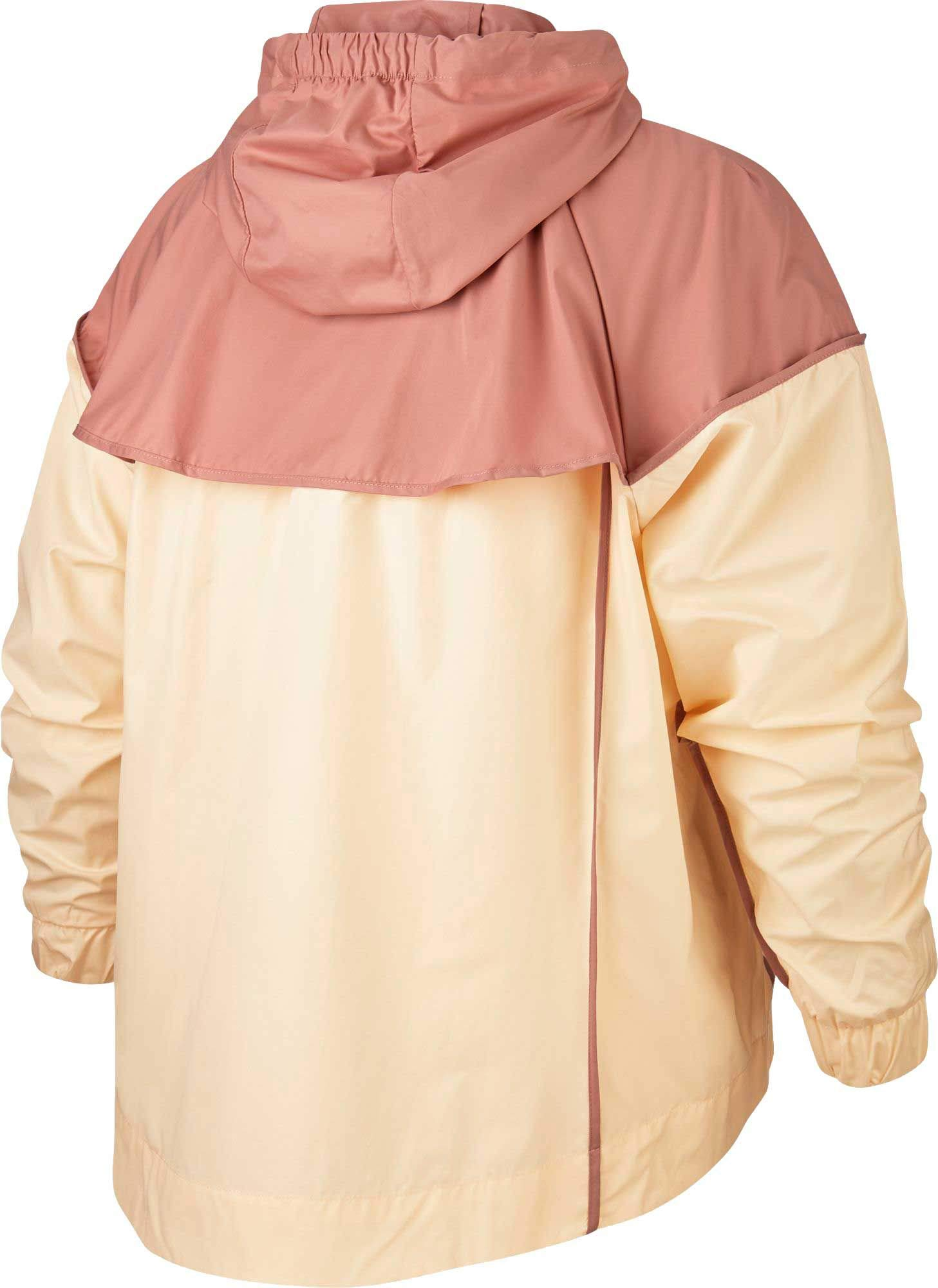 Nike Women's Plus Size Sportswear Windrunner Jacket (Guava Ice/Rust Pink, 2X) by Nike (Image #2)