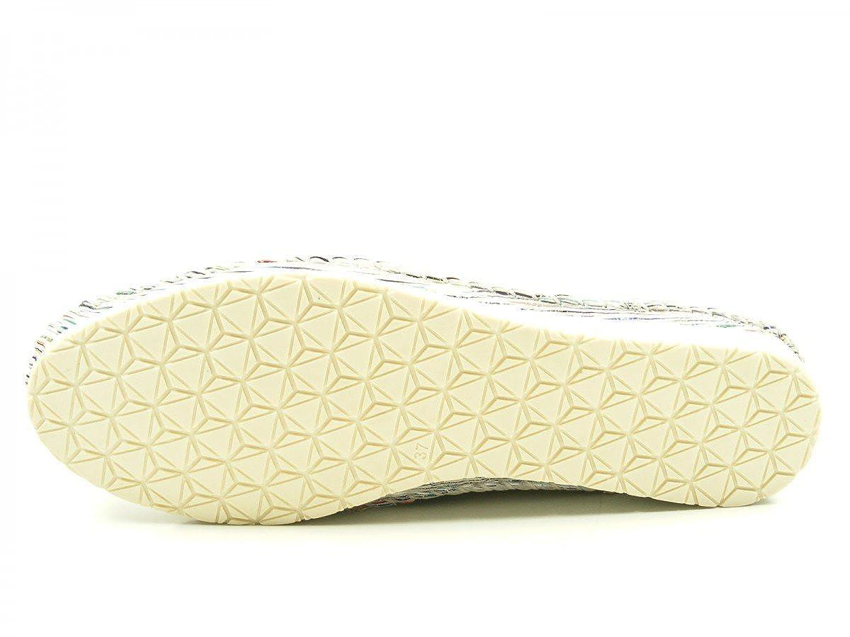 Andrea Conti Mokassins 0023413 Damen Slipper Ballerinas Mokassins Conti Weiß b07752