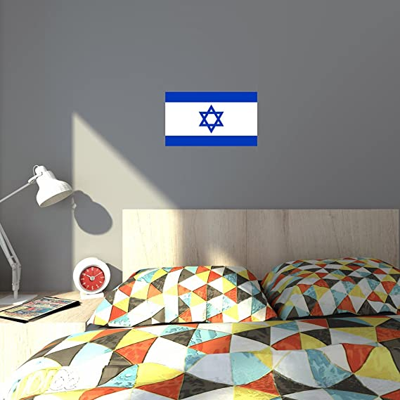 De inicio para - Israeli de la bandera de Turkmenistán y de los judíos land con