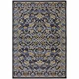 Add a stylish, traditional accent to your décor with the elegant Sicily Indoor/Outdoor Area Rug. Durably crafted with classic design elements in a rich color palette, this sophisticated rug will enhance the look of any space indoors or out.