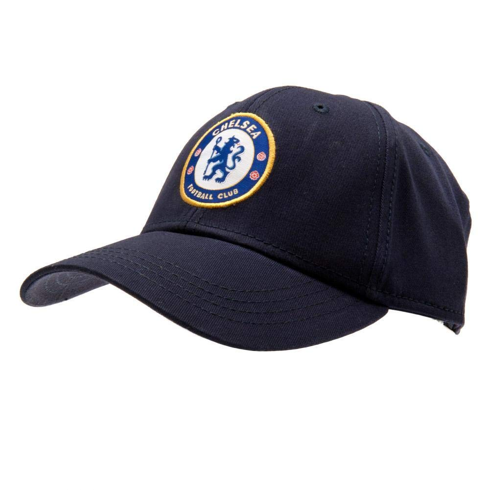 4901130e994f5 Chelsea FC Crest Baseball Cap - Navy Blue - Adjustable Back - Adult Baseball  Cap - Features Team Crest in Full Color - Crest Baseball Cap - Great for  any ...